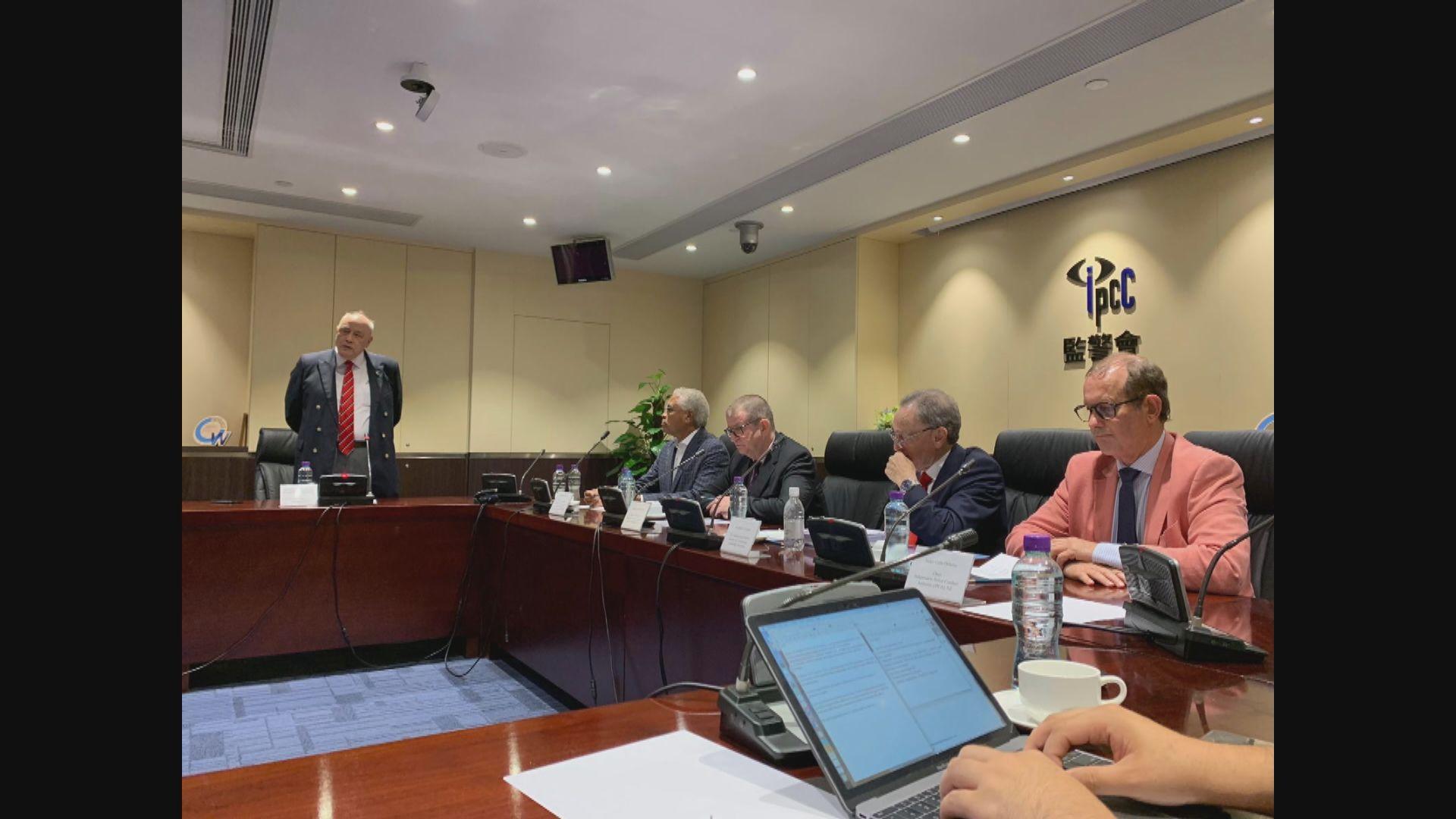 國際專家小組︰監警會急需加強法定權力