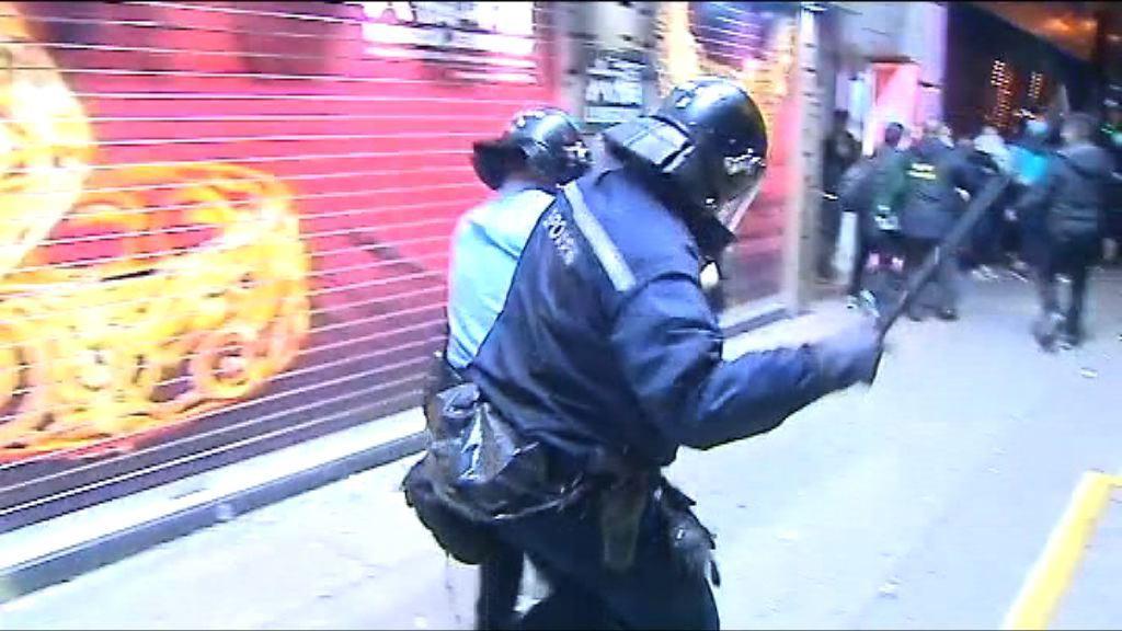 旺角騷亂 監警會未收到警向天開槍匯報投訴