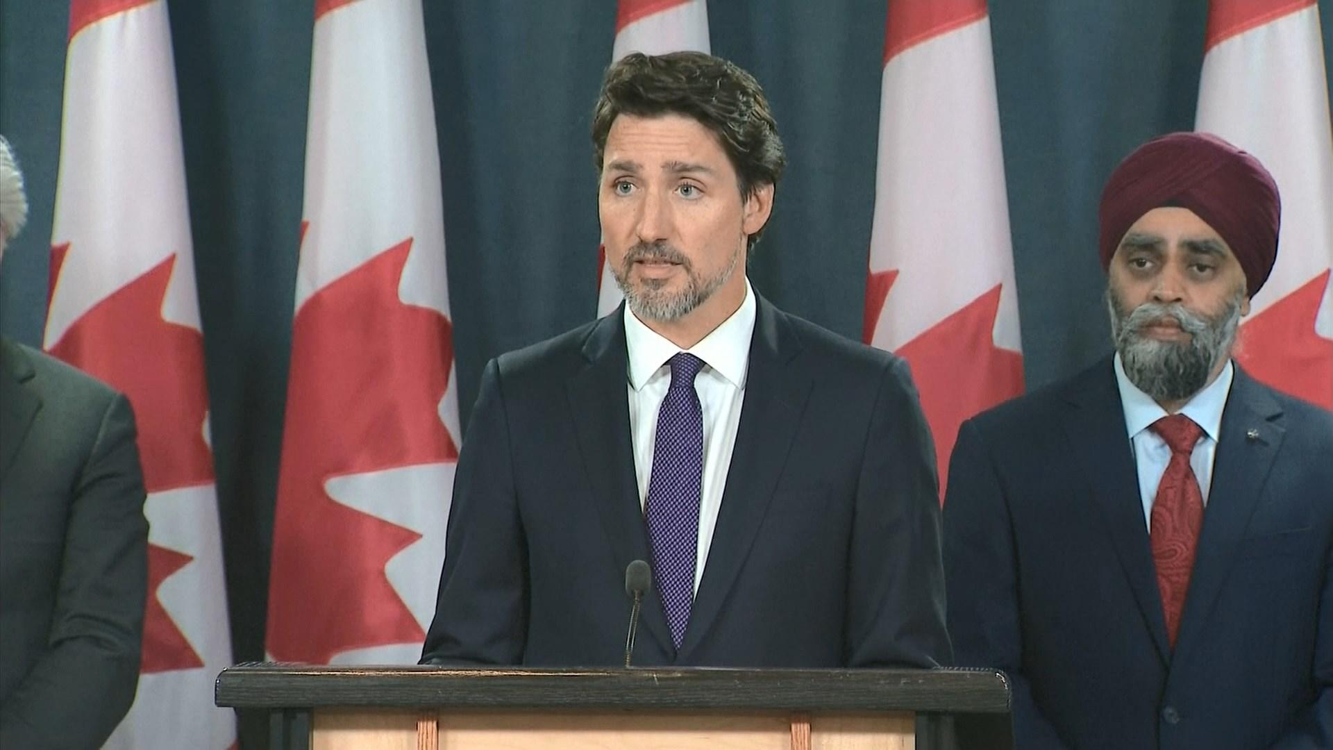 加拿大指伊朗導彈擊落烏克蘭客機