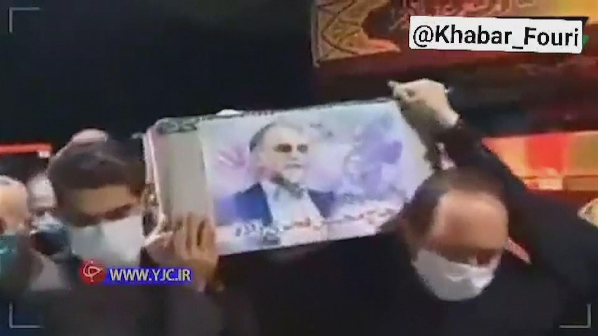 遇襲身亡伊朗核子科學家舉殯