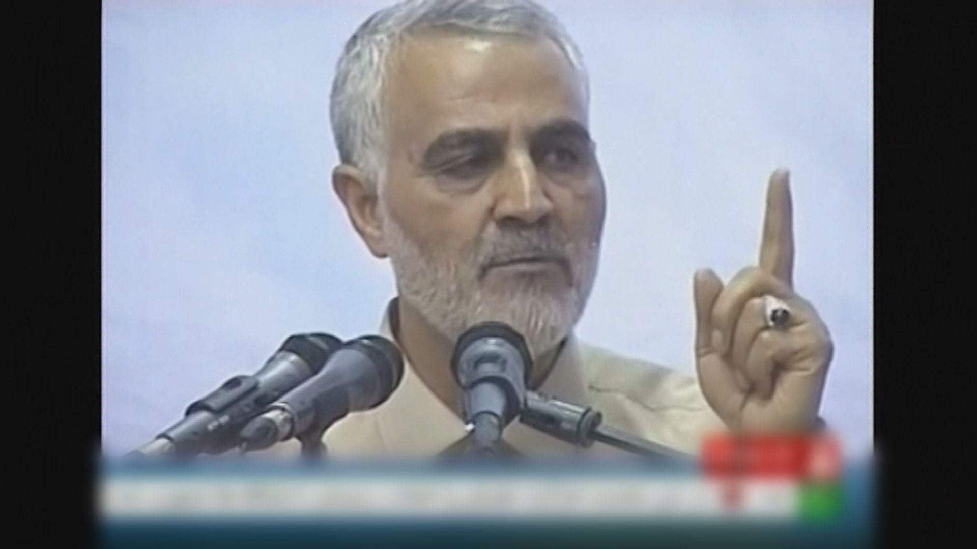 伊朗革命衛隊威脅攻擊西方船艦