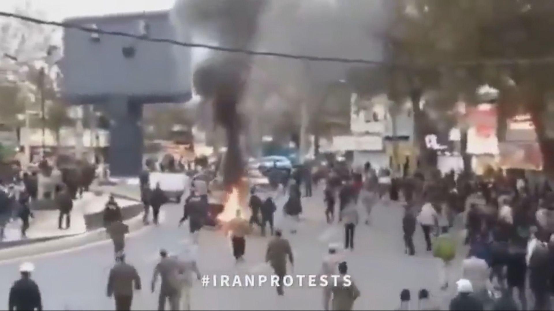 伊朗互聯網逐步解封 鎮壓片段曝光