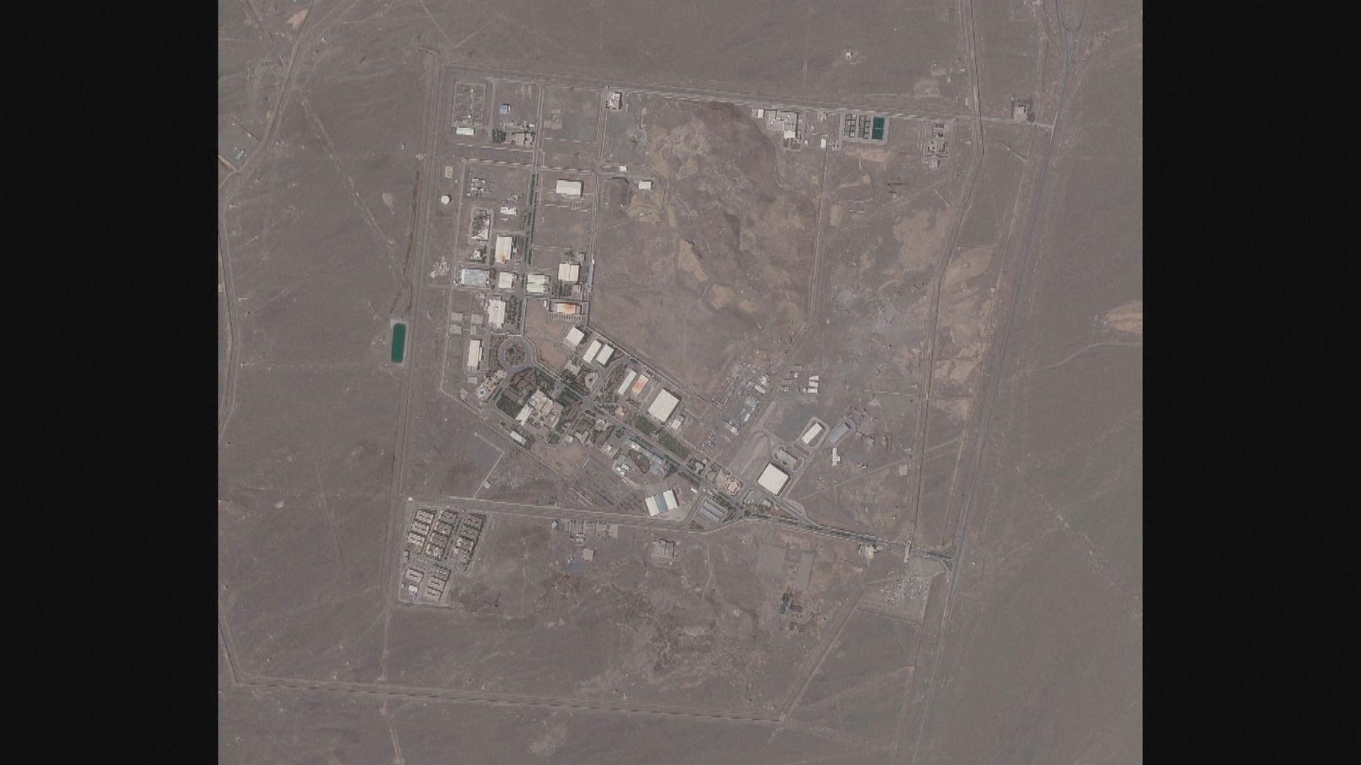 伊朗納坦茲核設施地面未見破壞痕跡