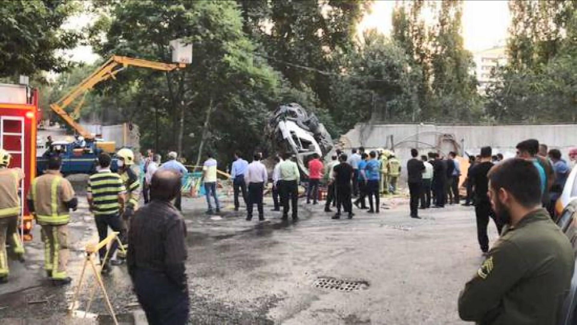 伊朗有混凝土車撞向俄羅斯大使館