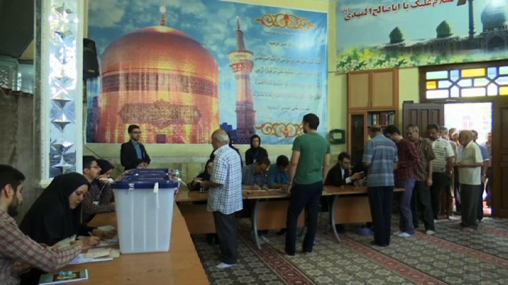 伊朗總統選舉投票開始