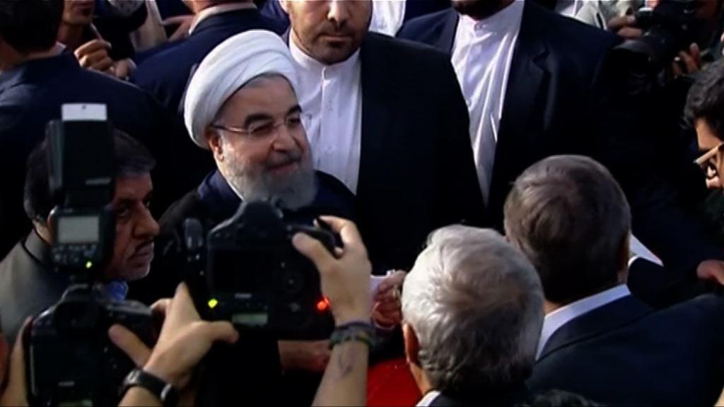 伊朗總統魯哈尼成功連任
