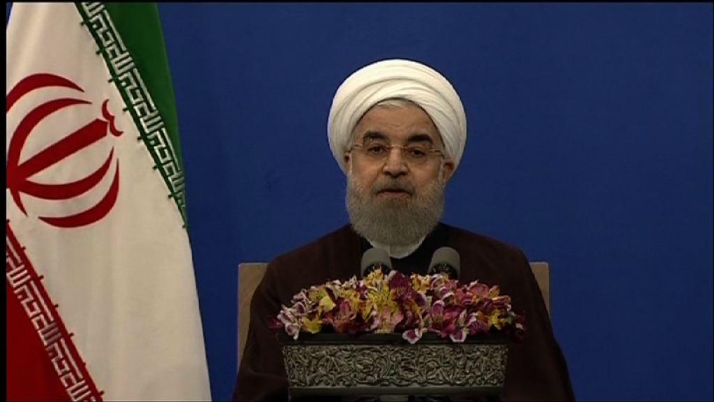 伊朗總統選舉魯哈尼成功連任