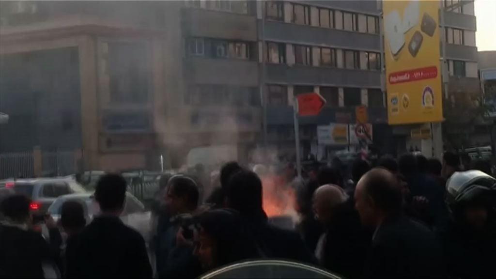 伊朗反政府示威逾二百人被捕