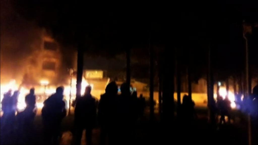 伊朗革命衛隊鎮壓反政府示威