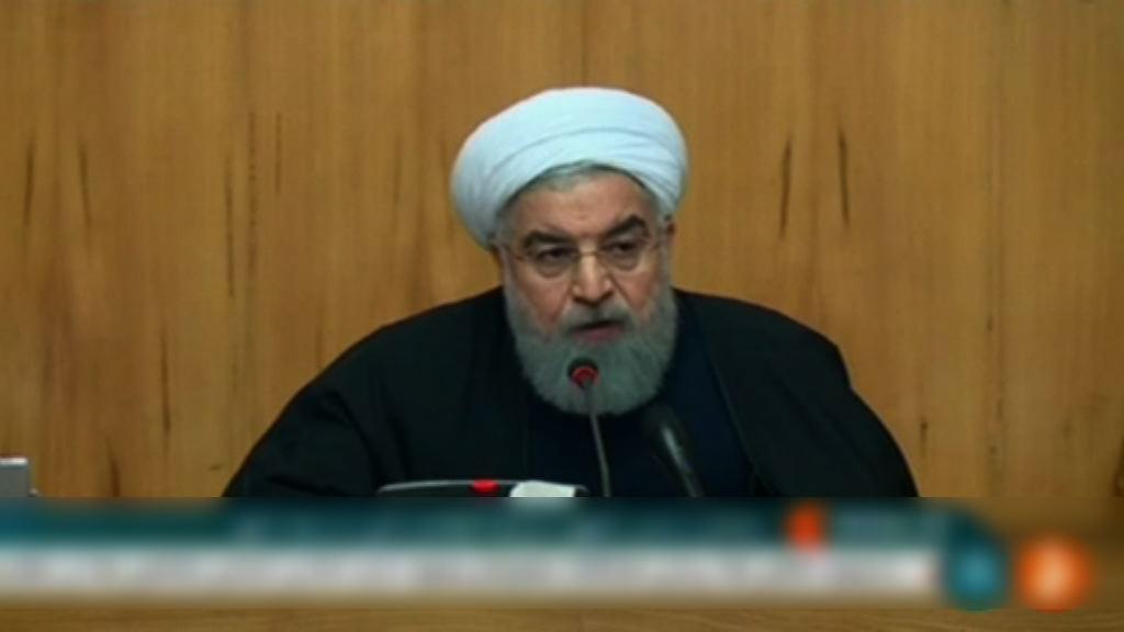 魯哈尼冀伊朗反政府示威可在數日內平息