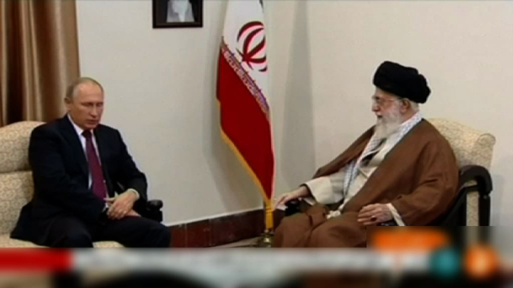 普京訪問伊朗重申支持核協議