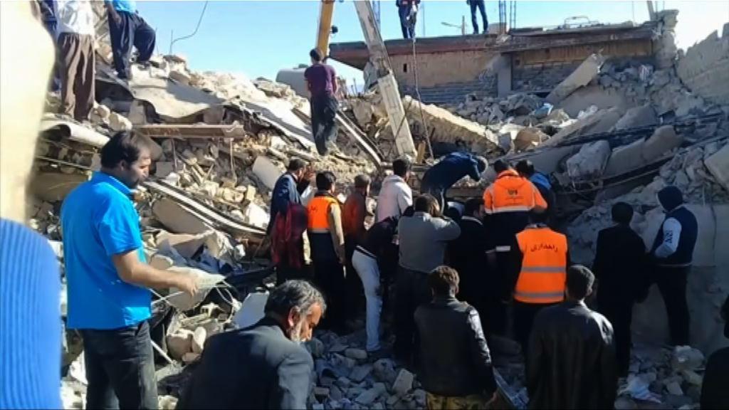 伊拉克7.3級地震 伊朗總統稍後視察災區