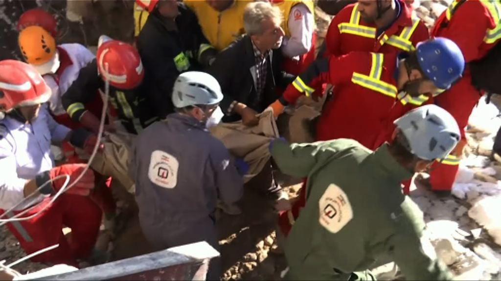 伊拉克7.3級地震 伊朗恢復災區搜救工作