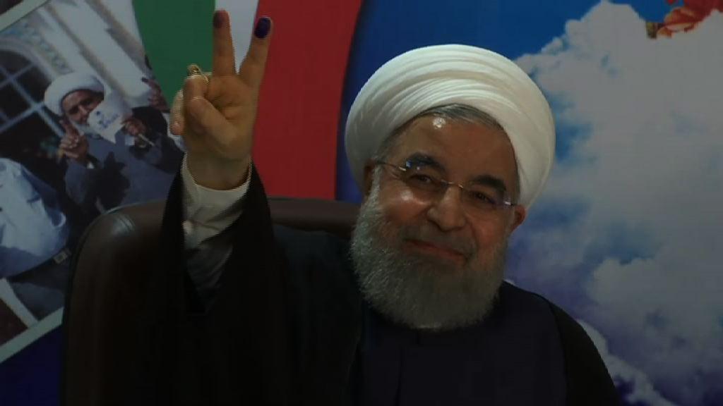 伊朗總統魯哈尼登記角逐連任
