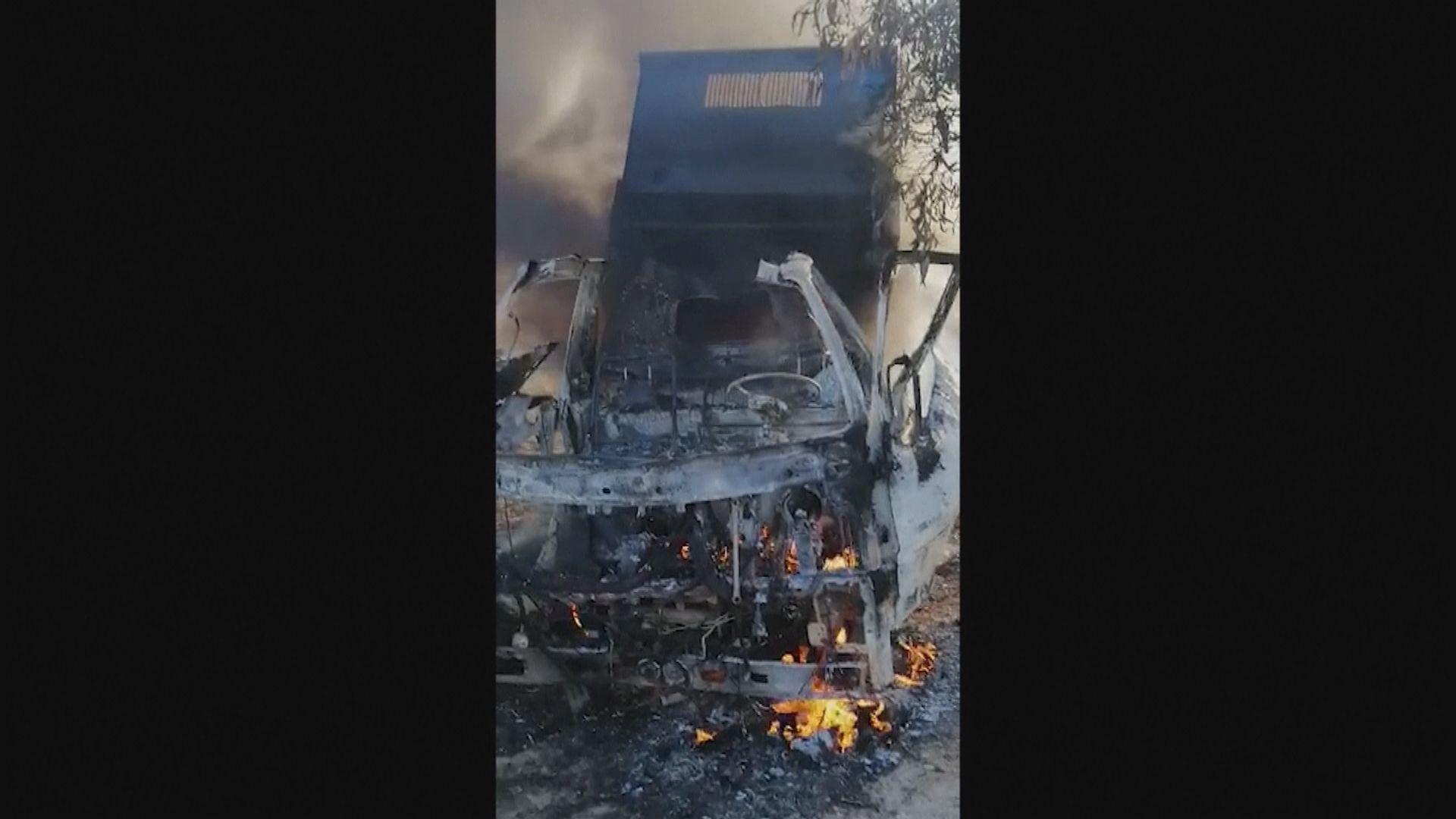 伊拉克聯軍基地遭十支火箭炮襲擊