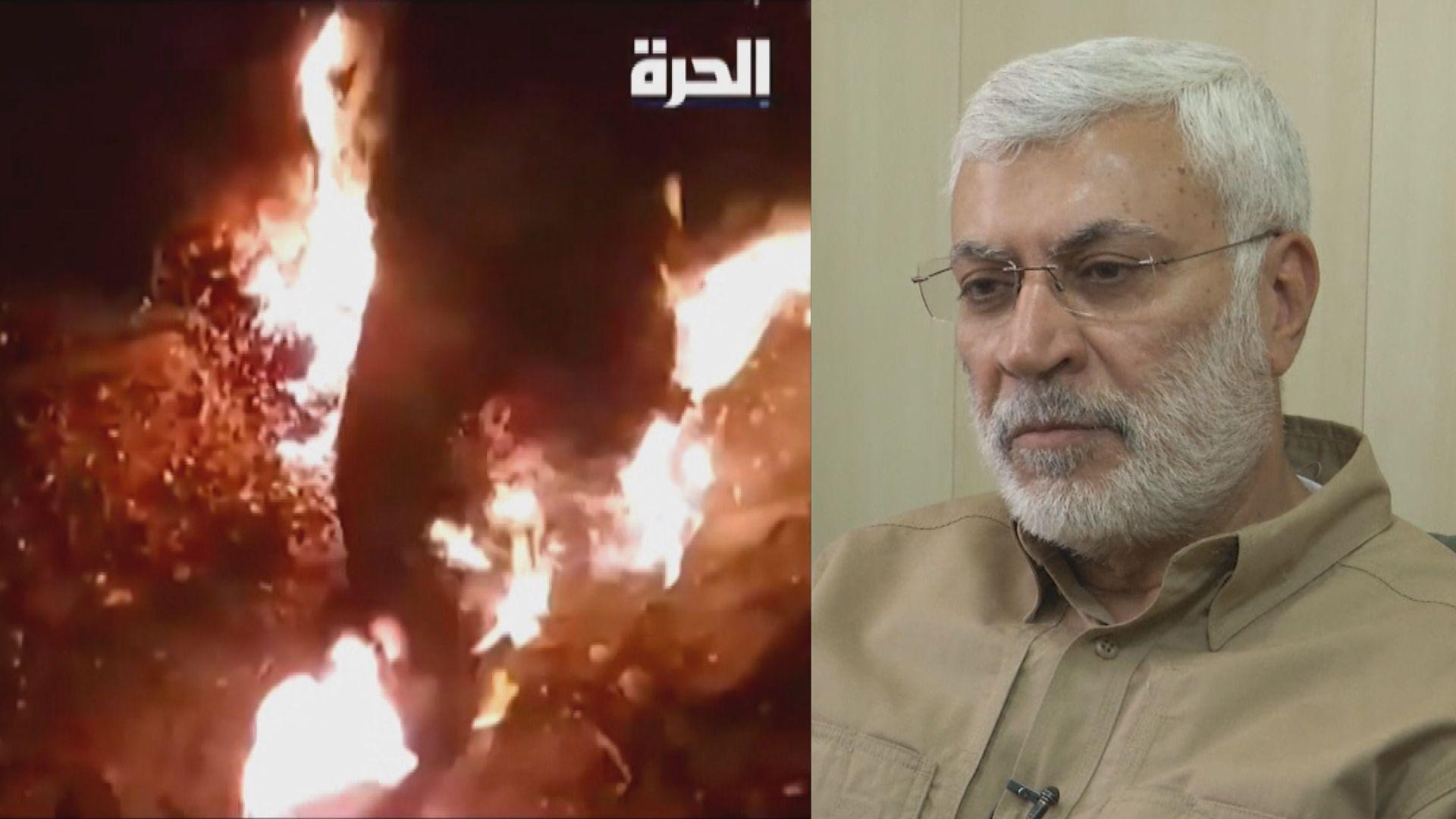 伊拉克機場遭空襲 伊朗革命衛隊與民兵組織將領被殺