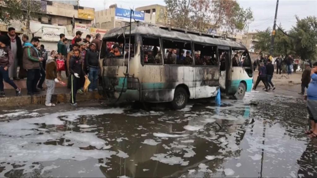 奧朗德訪伊拉克 巴格達再遭恐襲至少36死