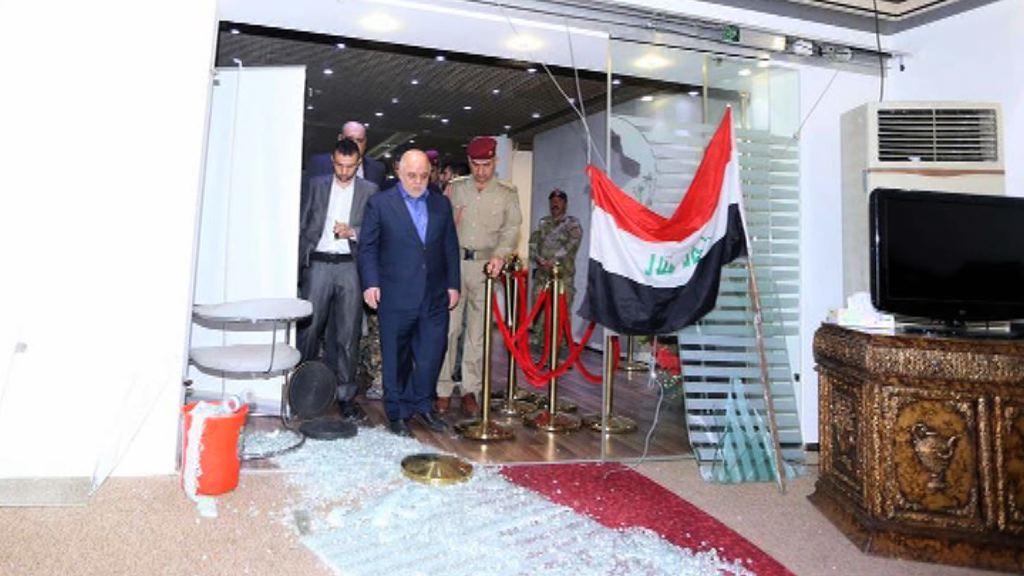 伊拉克總理下令拘捕闖國會示威者