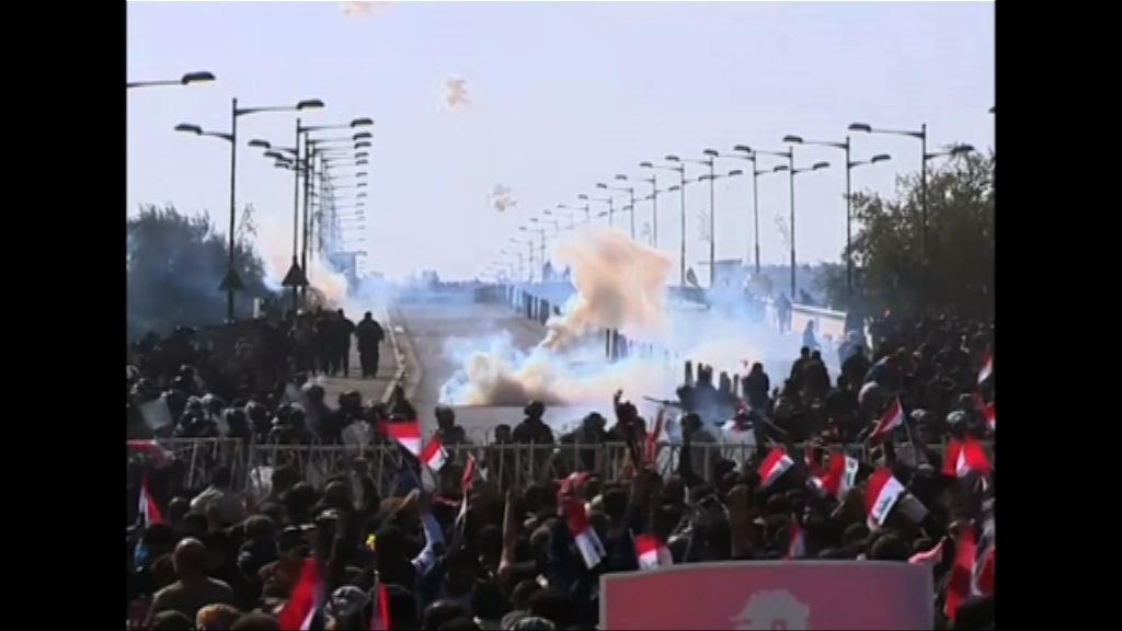 伊拉克反政府示威釀警民衝突