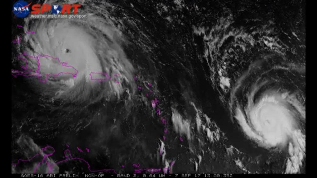 艾爾瑪減弱四級颶風 風力仍然強勁