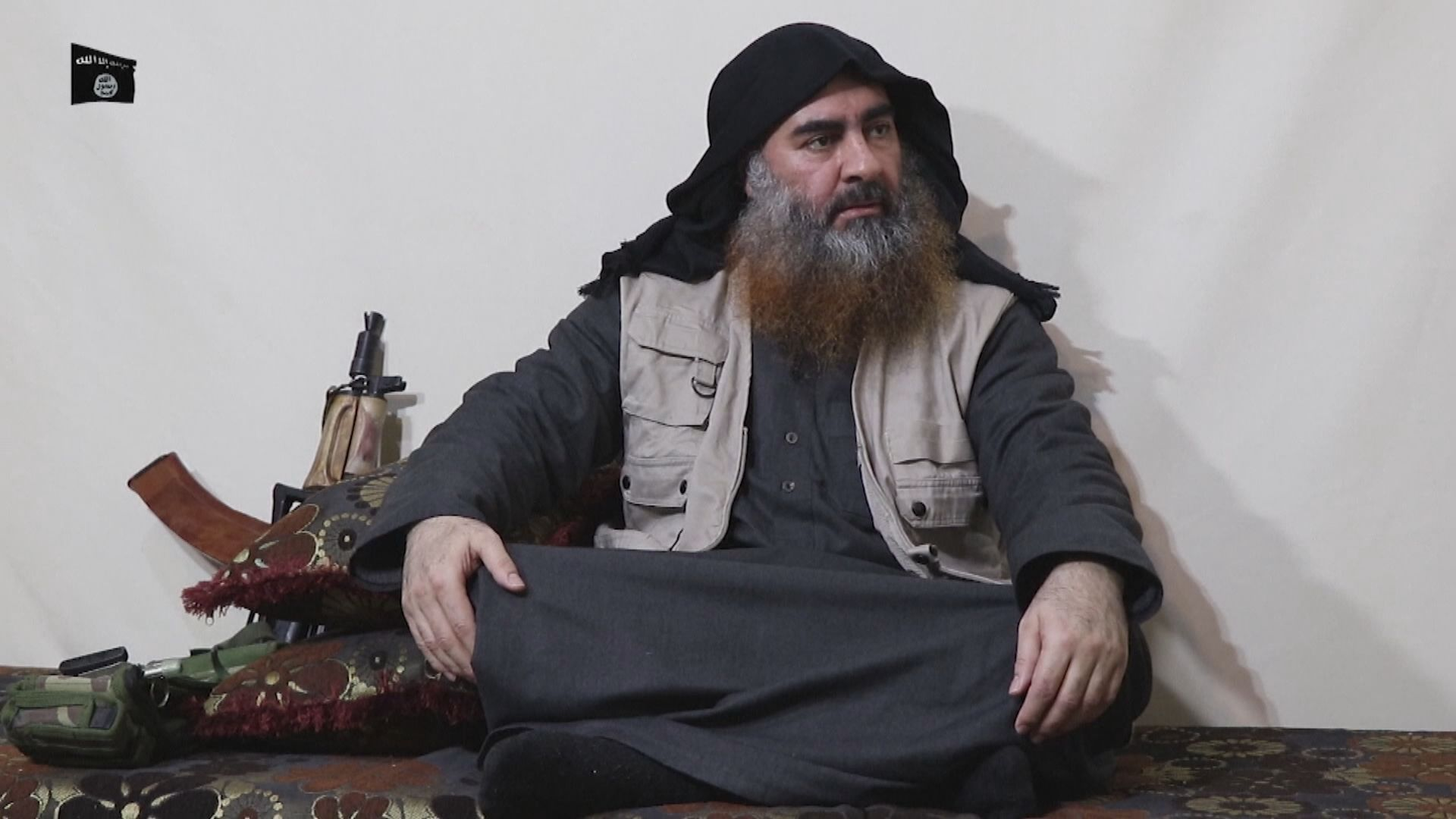 伊斯蘭國領袖巴格達迪五年來首次露面