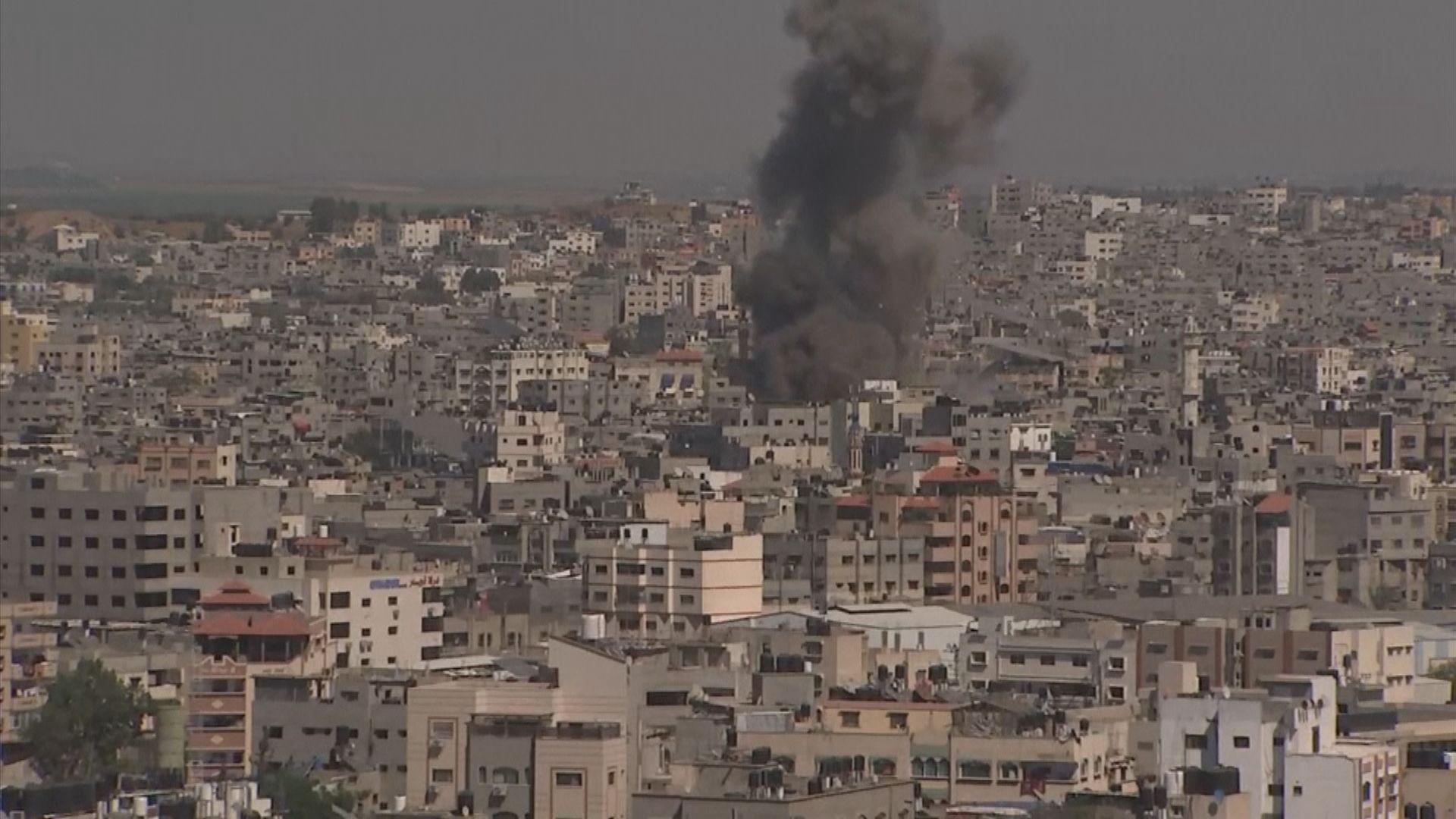 以軍和哈馬斯衝突持續 加沙多處遭轟炸
