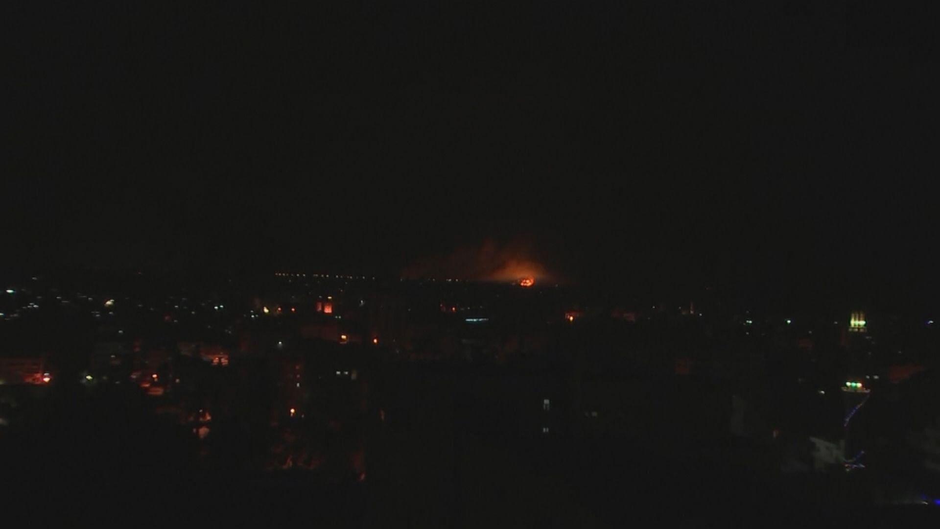 以巴衝突持續 加沙多處被以軍炮火擊中