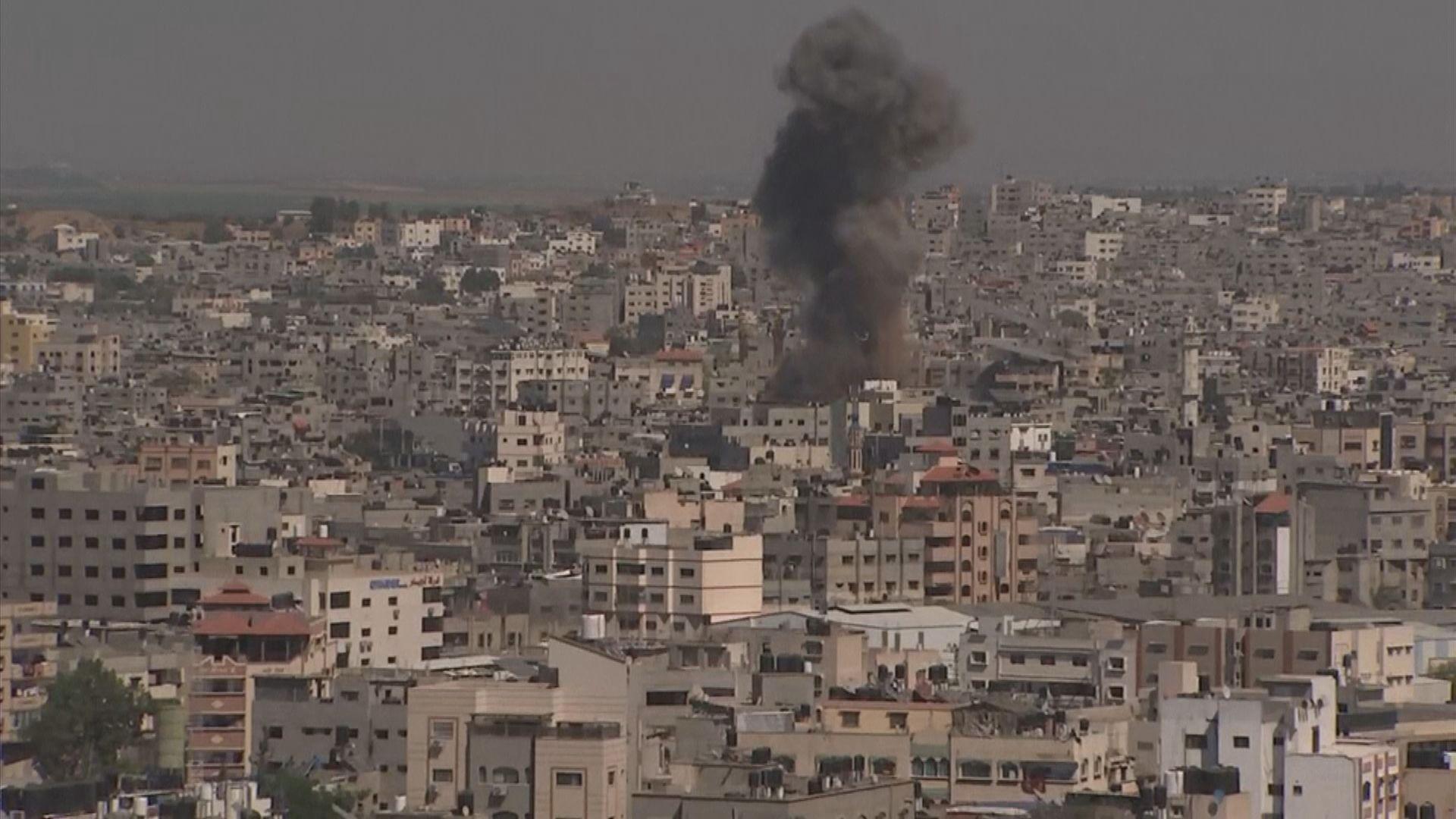 以軍稱摧毀逾千個哈馬斯軍事目標 哈馬斯火箭炮還擊