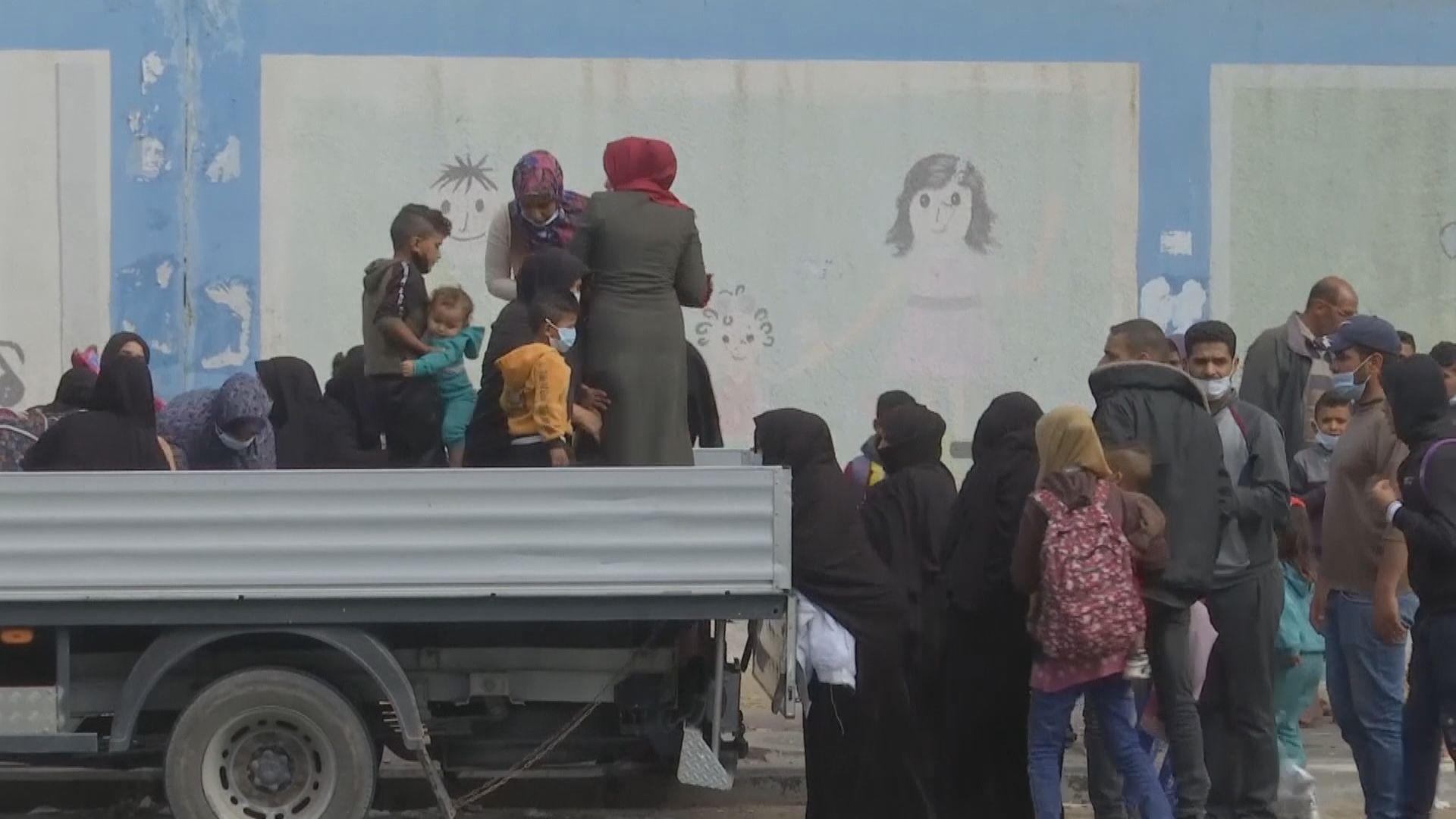 以色列續攻擊加沙地區 大批居民逃離家園