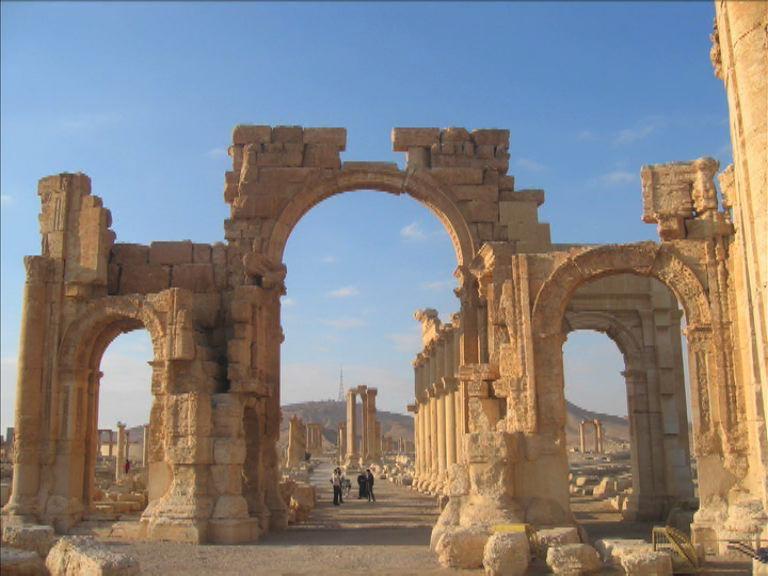 伊斯蘭國再破壞巴爾米拉古城文物