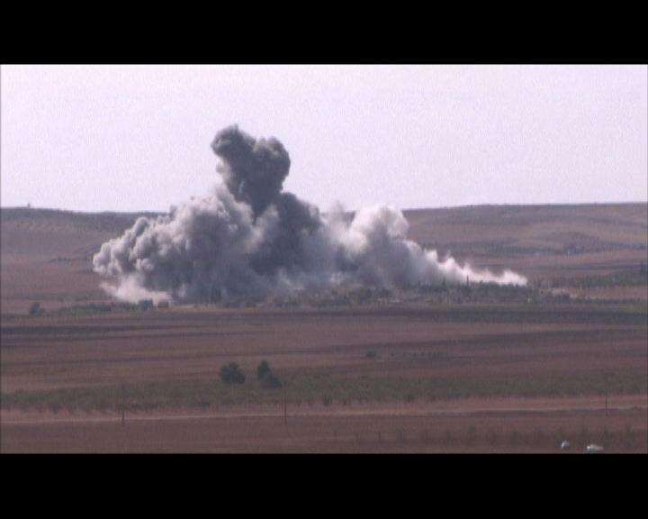 盟軍加強空襲伊斯蘭國據點