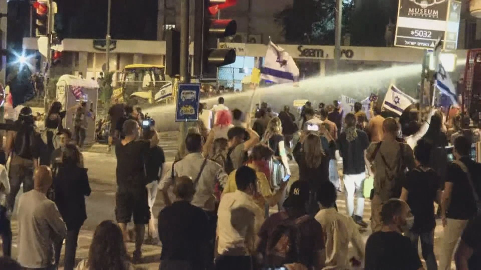 以色列再有示威抗議總理處理疫情不力
