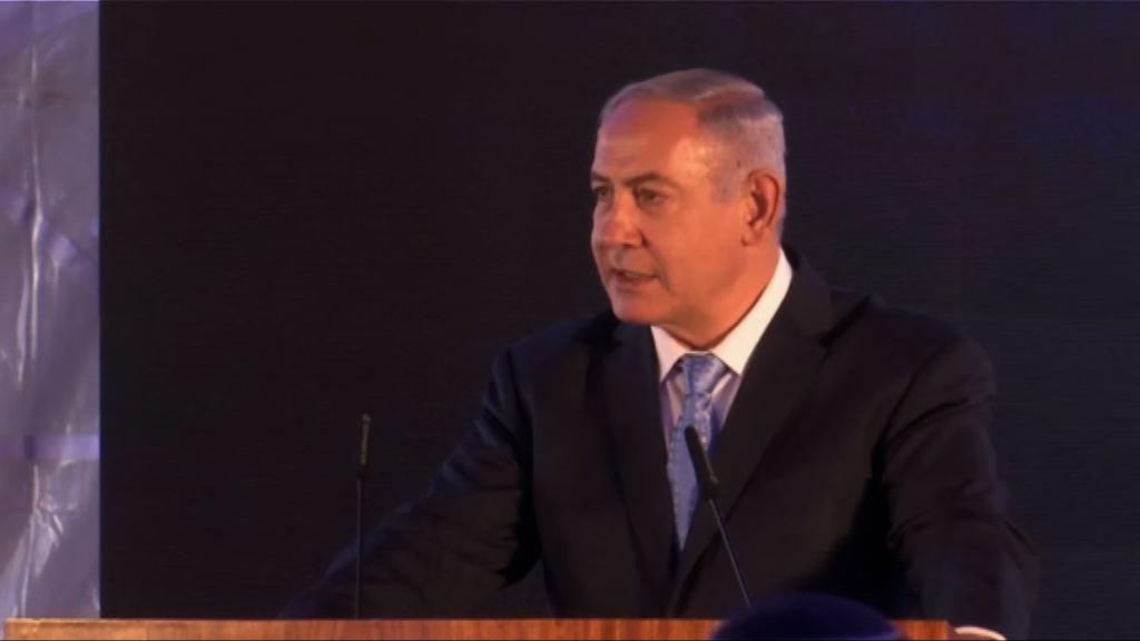美代表團抵耶路撒冷出席新大使館開幕