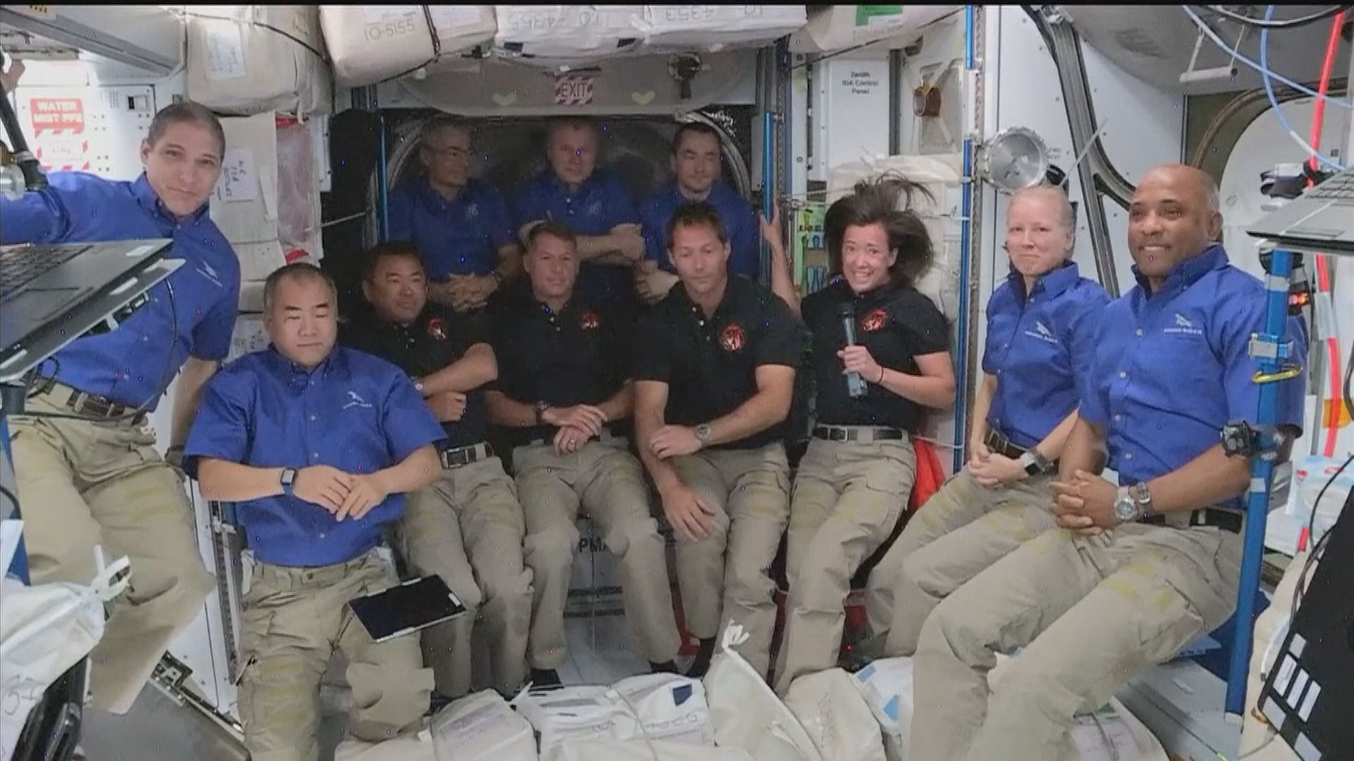SpaceX龍飛船抵達國際太空站