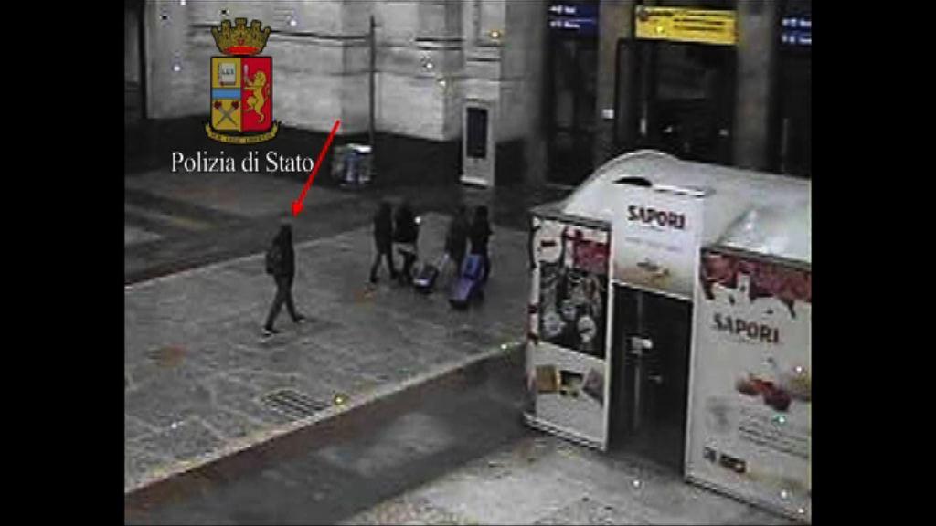 柏林市集恐襲 疑犯被殺前曾到米蘭中央車站