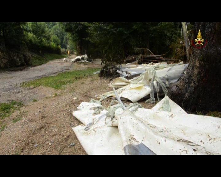 意大利北部河水沖毀營地4死