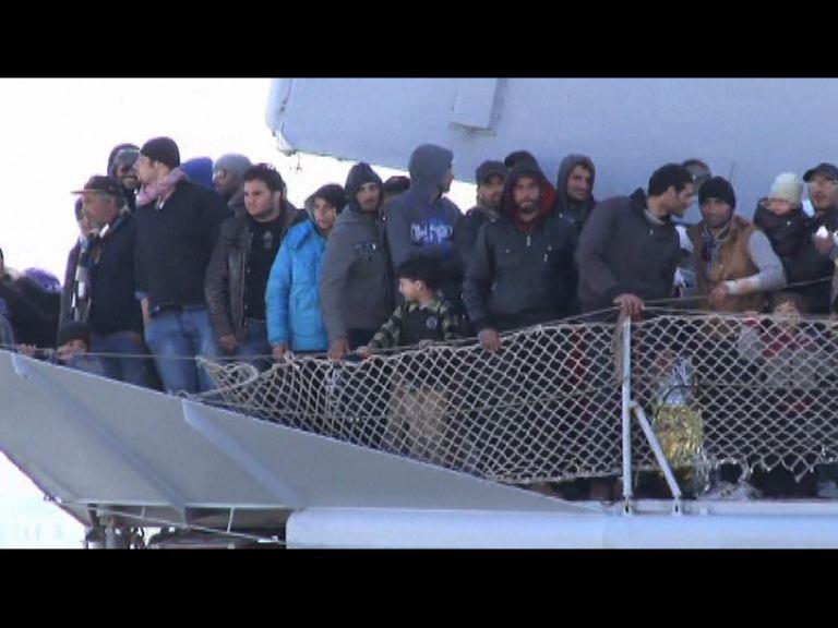 意大利難民收容所即將爆滿