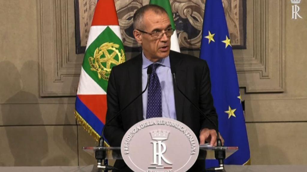 科塔雷利獲委任為臨時總理組閣