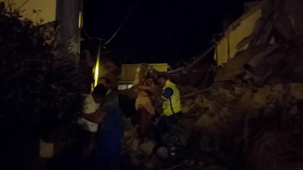 意大利度假小島地震多人死傷