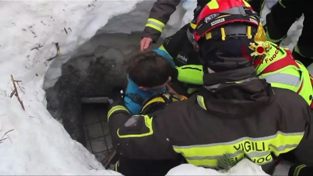 意國雪崩4名生還兒童全獲救