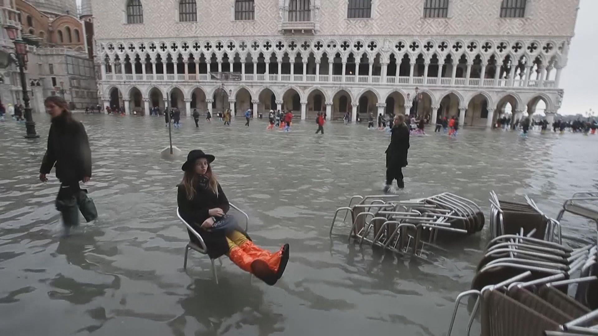 意大利威尼斯水浸成災進入緊急狀態