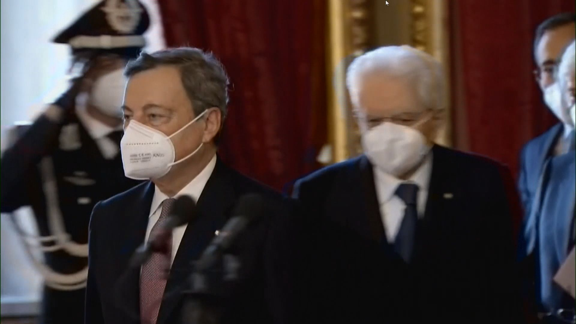 歐洲央行前行長德拉吉 宣誓就任意大利總理