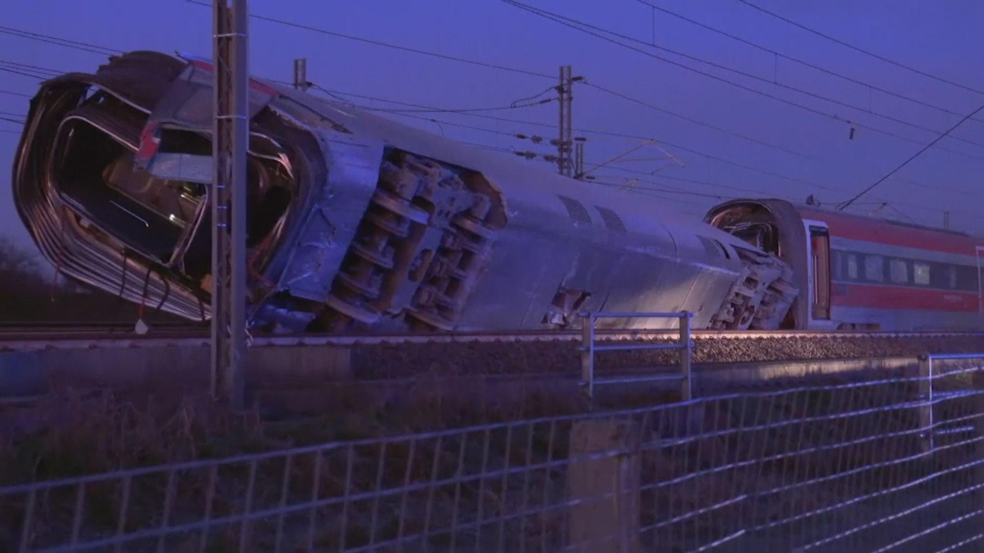 意大利北部高速列車出軌 至少兩死28傷