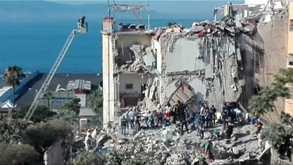 意大利五層住宅倒塌至少埋八人