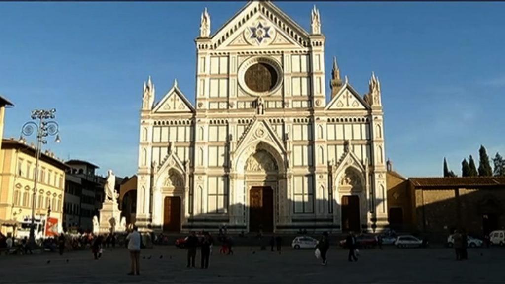 意大利教堂碎石砸死一名遊客