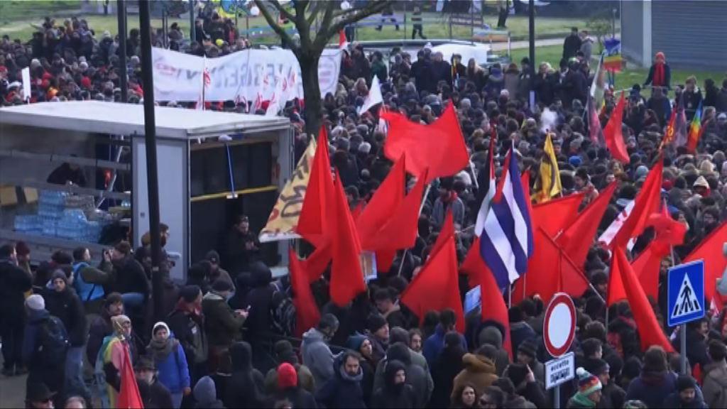 意大利逾千人參與反種族歧視示威