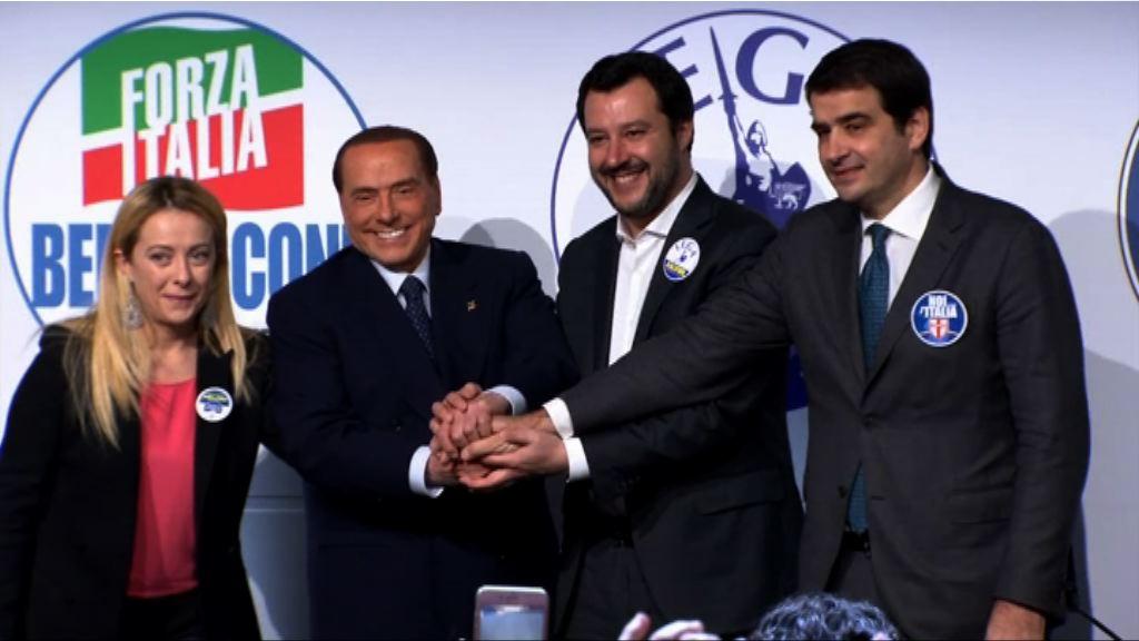 意大利大選各黨最後衝刺拉票