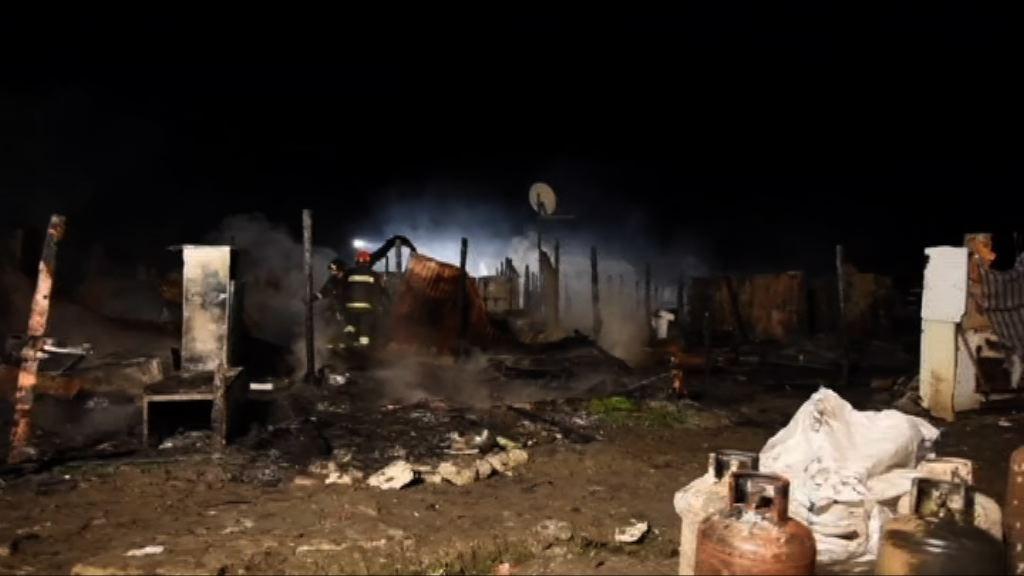 意非裔移民營地火警2死