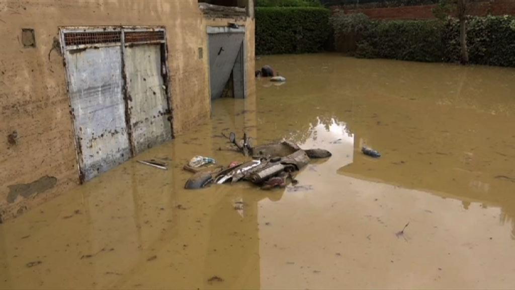 意大利中部暴雨成災 六死兩失蹤