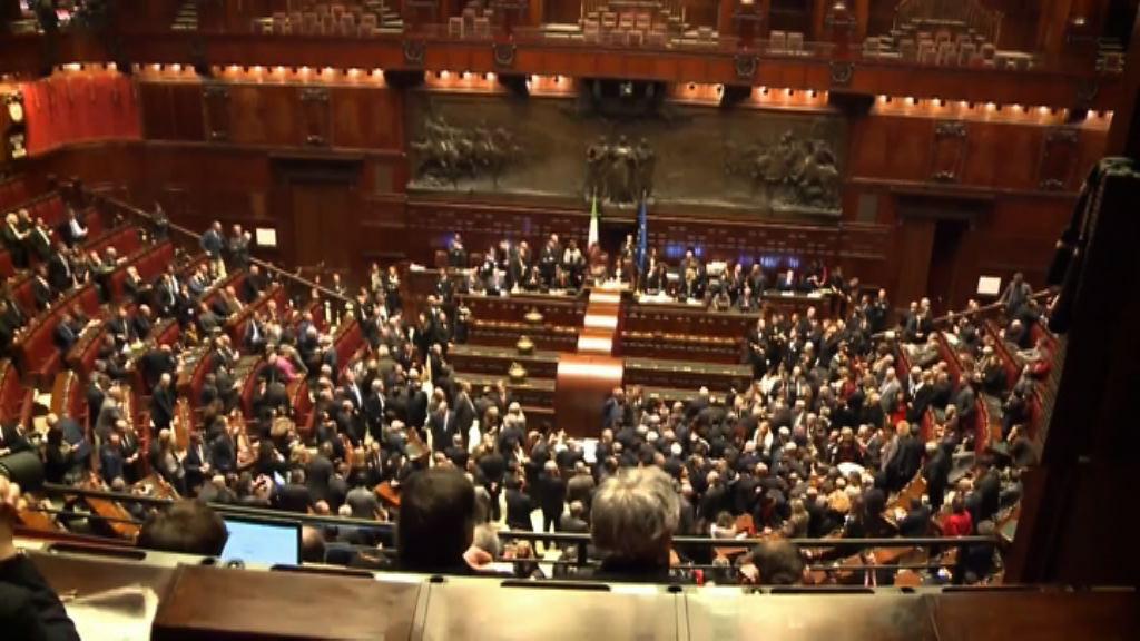 意大利臨時總理指出現組成新政府的可能性